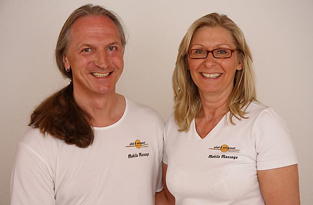 Ihr kompetentes Massageteam – Evelyn Krisch und Robert Multner